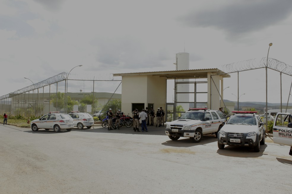 Presídio Regional de Montes Claros (Foto: Valdivan Veloso/G1)