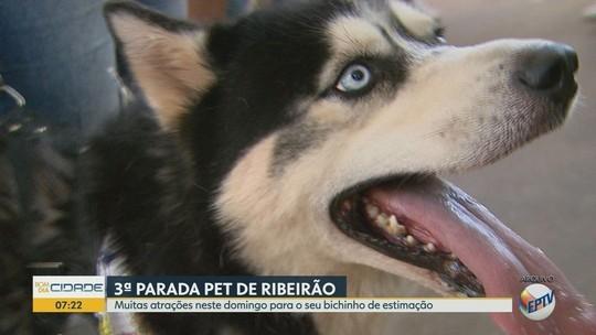 Parada Pet tem dia com atividades para toda a família em Ribeirão Preto, SP