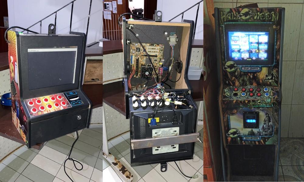 Polícia apreende máquinas caça-níqueis em comércios de Itanhaém, SP
