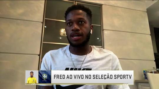 Surpresa na lista de Tite, Fred fala sobre a felicidade de ser chamado para Copa do Mundo