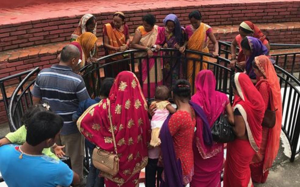 Na Índia, 90% dos casamentos são entre pessoas da mesma casta. Os outros 10% são entre pessoas de castas próximas em termos hierarquicos (Foto: BBC)