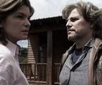 Cristiana Oliveira e Edson Celulari em cena de Animal | Divulgação