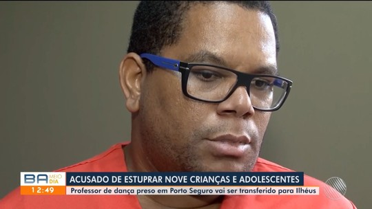 Professor de dança preso acusado de estuprar alunas vai ser transferido para Ilhéus