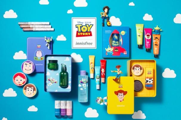 Inisfree lança produtos de beleza inspirados em Toy Story (Foto: Divulgação)