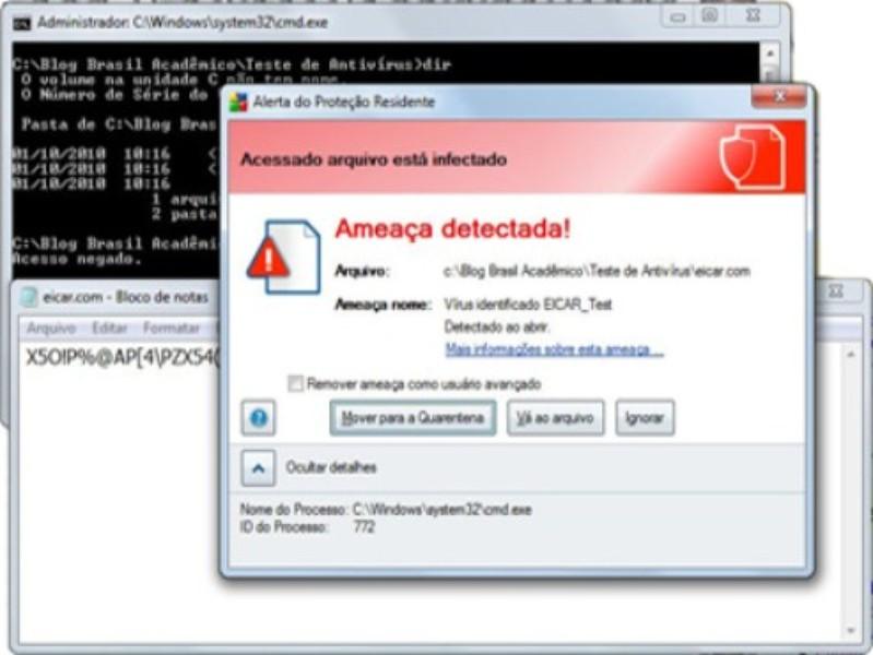 EICAR - The Anti-Virus Test File   Download   TechTudo