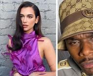 """Dua Lipa detona rapper que fez comentários homofóbicos: """"Não reconheço isso como a pessoa com quem trabalhei"""""""