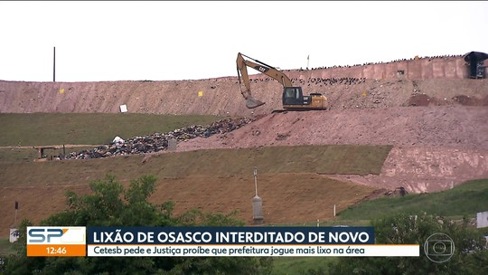 Com aterro interditado, Prefeitura de Osasco despeja lixo em Caieiras