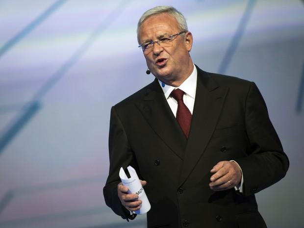 Martin Winterkorn, CEO da Volkswagen (Foto: Odd Andersen / AFP)