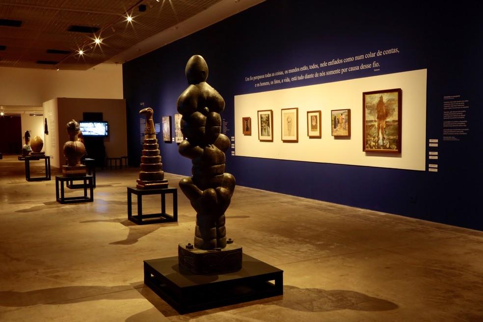 Caixa Cultural Fortaleza recebe exposição de Francisco Brennand. (Foto:  Jailton Costa/Divulgação)