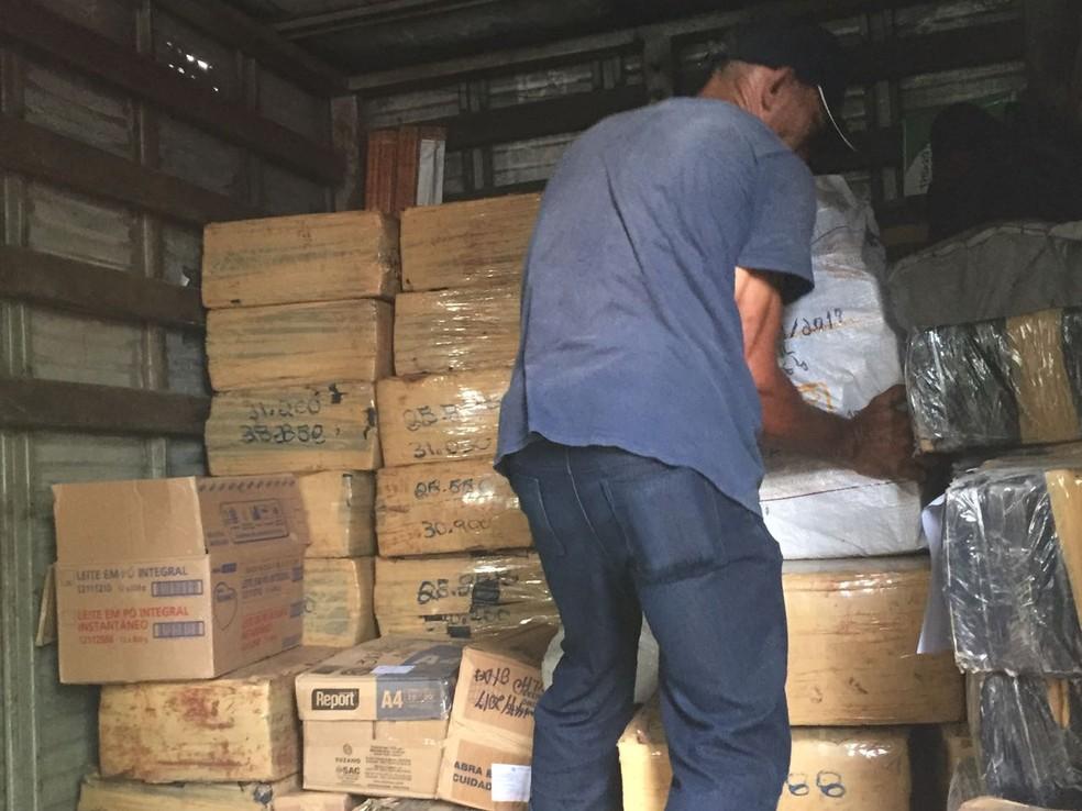 Polícia incinera mais de três toneladas de drogas no Ceará (Foto: SSPDS/Divulgação)