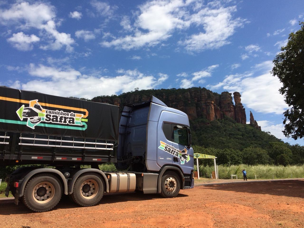 caminhos-da-safra-caminhão-scania-estrada (Foto: Fernando Martinho/Ed.Globo)