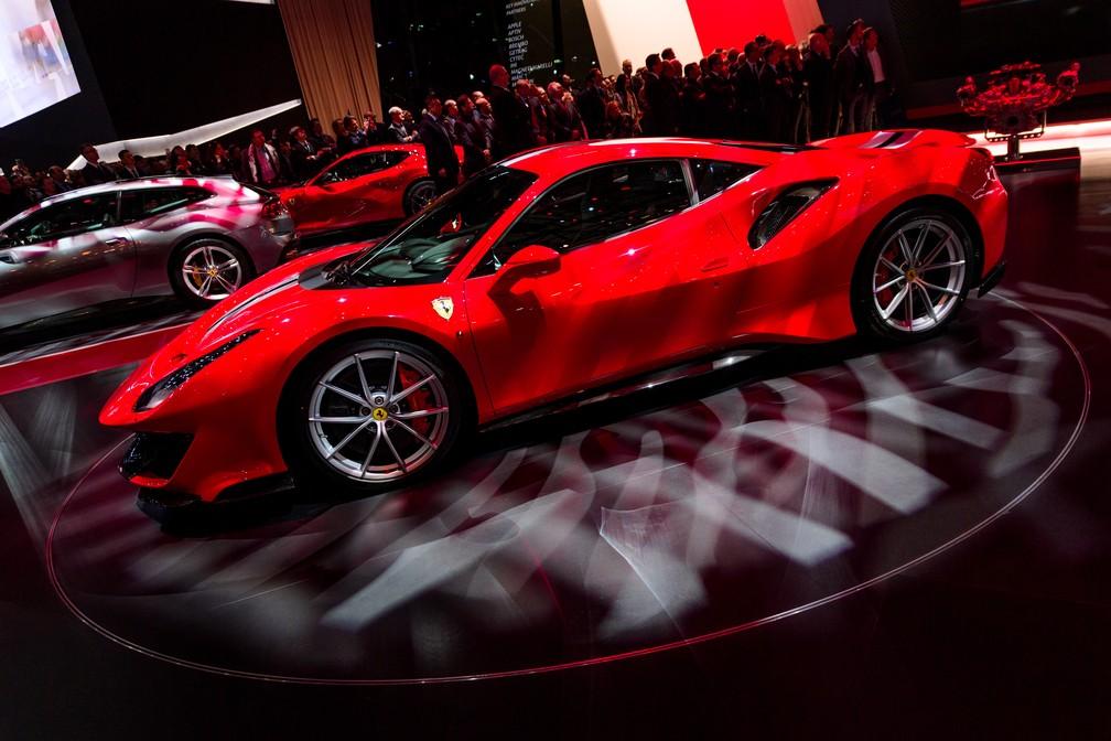Ferrari 488 Pista (Foto: Harold Cunningham/AFP)