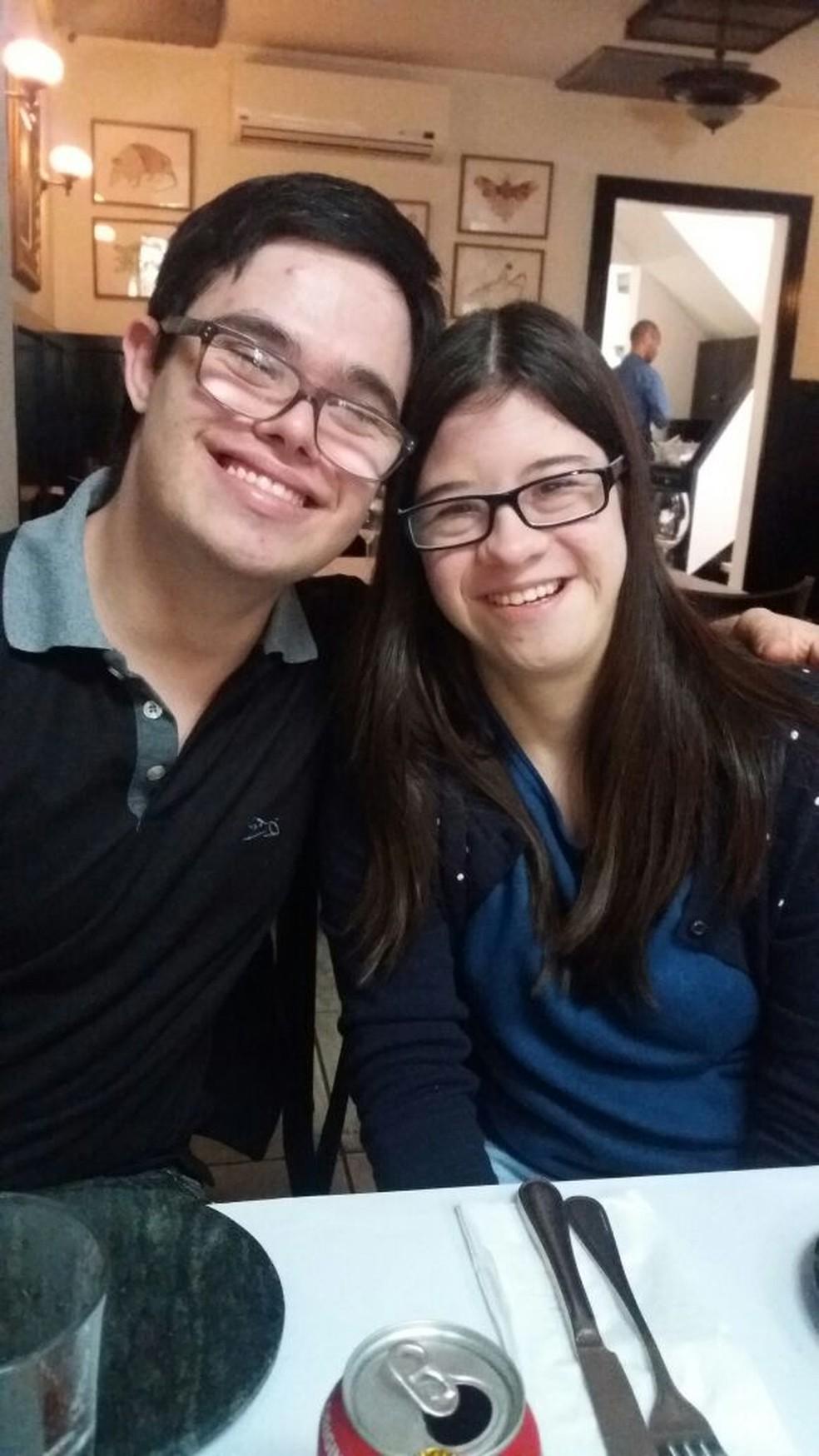 Guilherme e Francine sonham em morar juntos. (Foto: Arquivo pessoal)