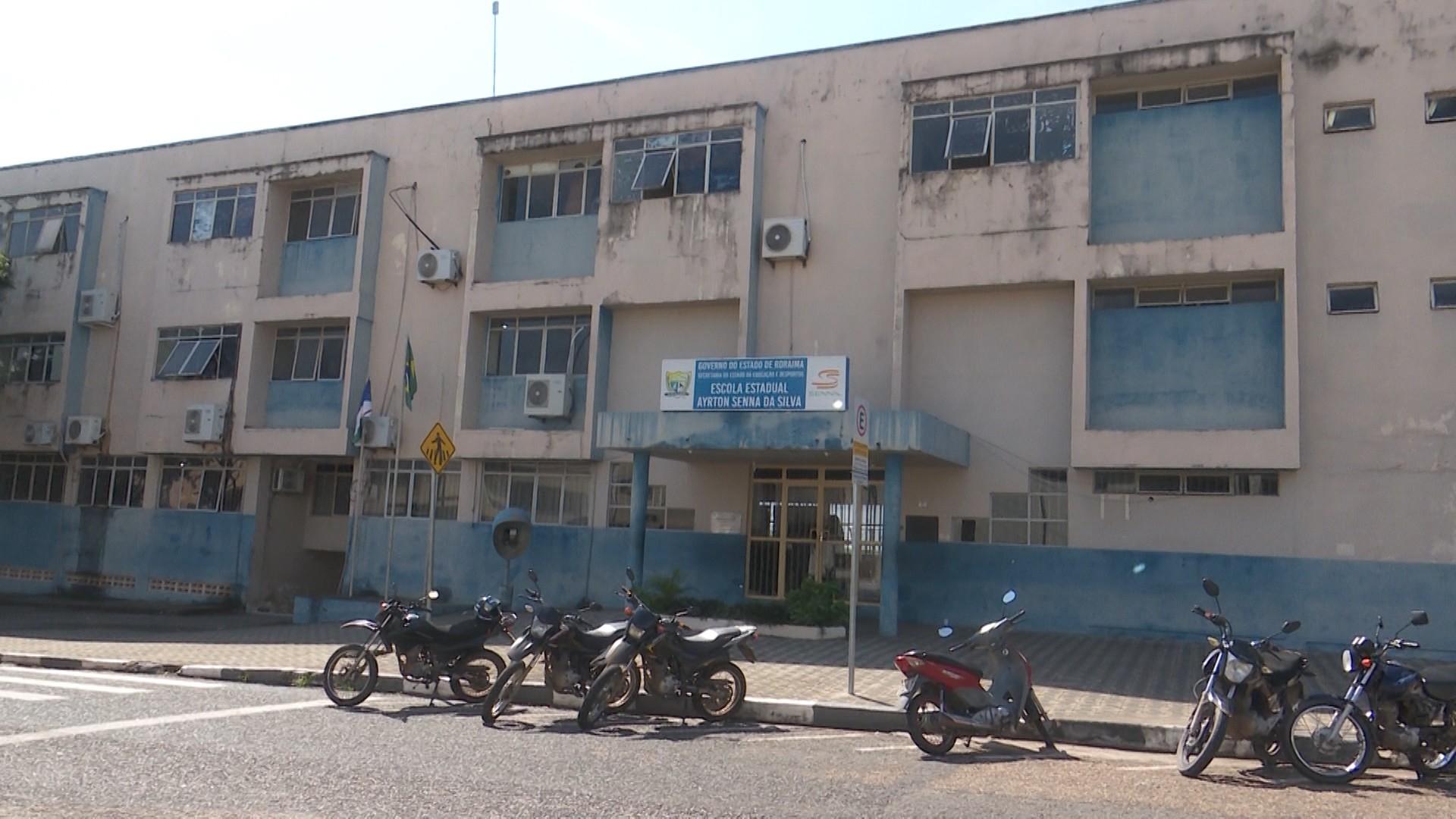 Governo de Roraima desativa prédio da escola Ayrton Senna - Notícias - Plantão Diário