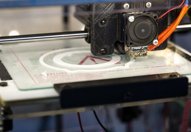 Impressora 3D (Foto: Pixabay)