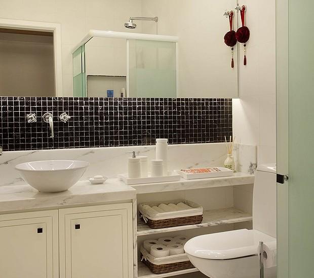 Dicas para banheiros pequenos decorados Casa e Jardim Decoraç u0