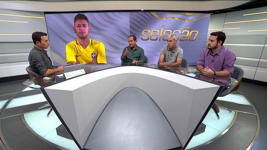 Comentaristas falam sobre notícias envolvendo chance de transferência de Neymar para Real