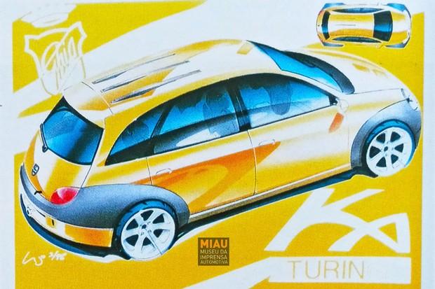 Ford Ka Miau (Foto: Divulgação/Acervo MIAU Museu da Imprensa Automotiva)