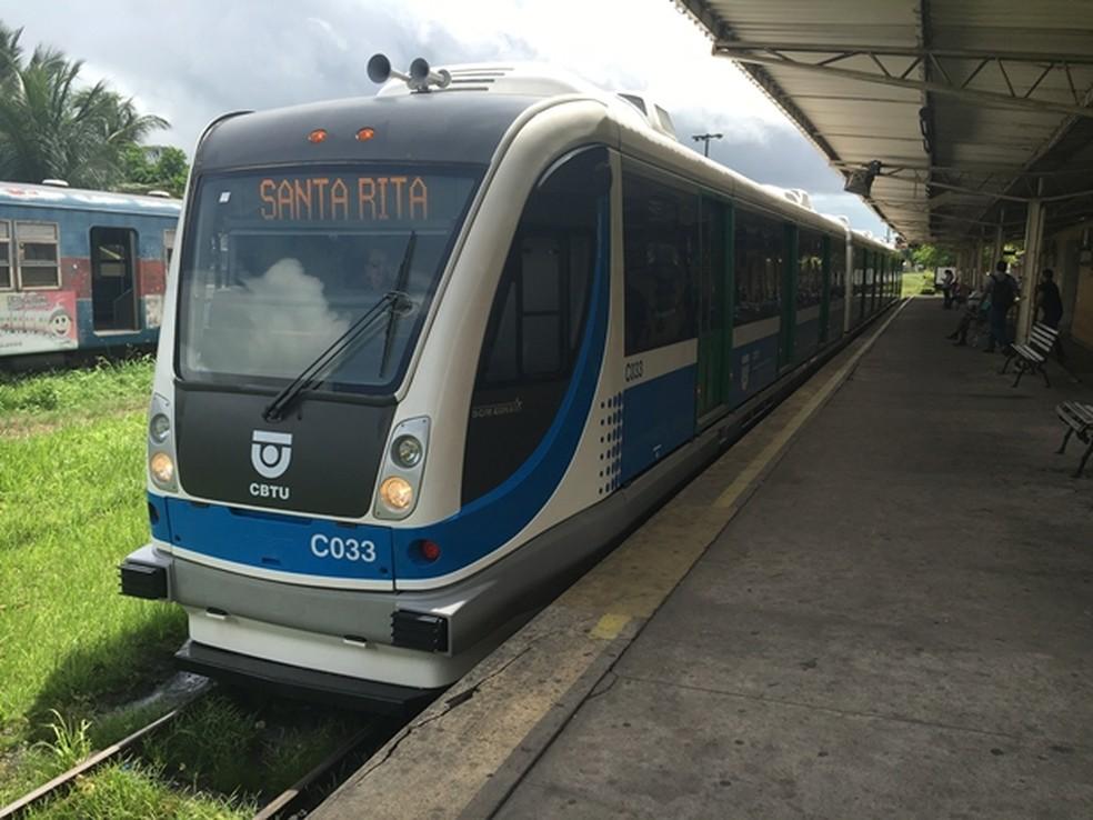 VLT não vai funcionar no sábado, na Grande João Pessoa (Foto: Everaldo Ricardo/CBTU João Pessoa)