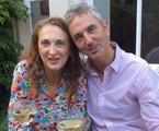 Débora Olivieri e Ruud Dankers | Arquivo pessoal