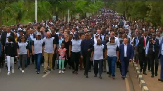 Ruanda promove homenagens às vítimas do massacre de 1994