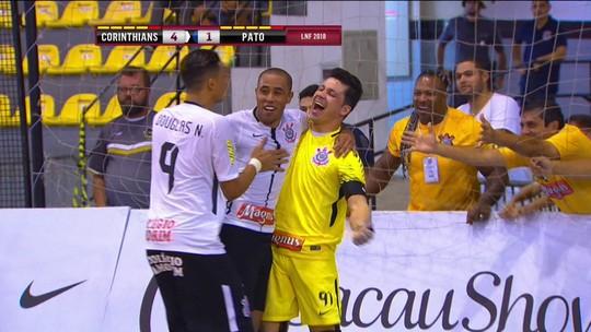 Corinthians leva sufoco no fim, mas vence Pato e estreia com vitória na LNF