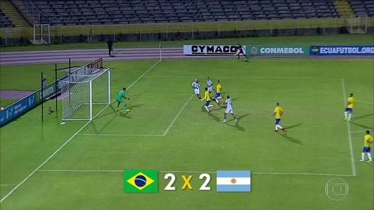 Seleção brasileira sub-20 encara Argentina para ir ao Mundial: é secar e vencer