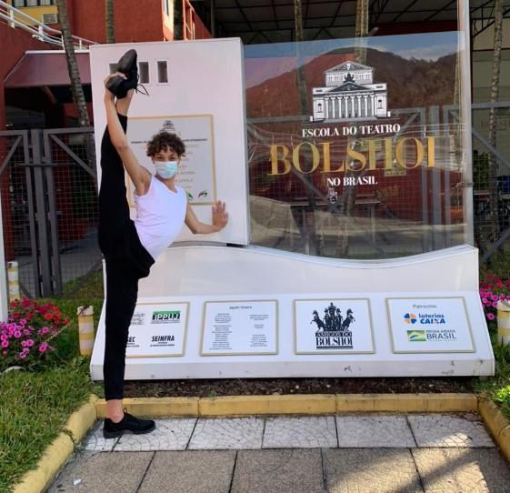 Bailarino do interior de SP é selecionado pela Escola de Teatro Bolshoi: 'Sensação incrível', diz