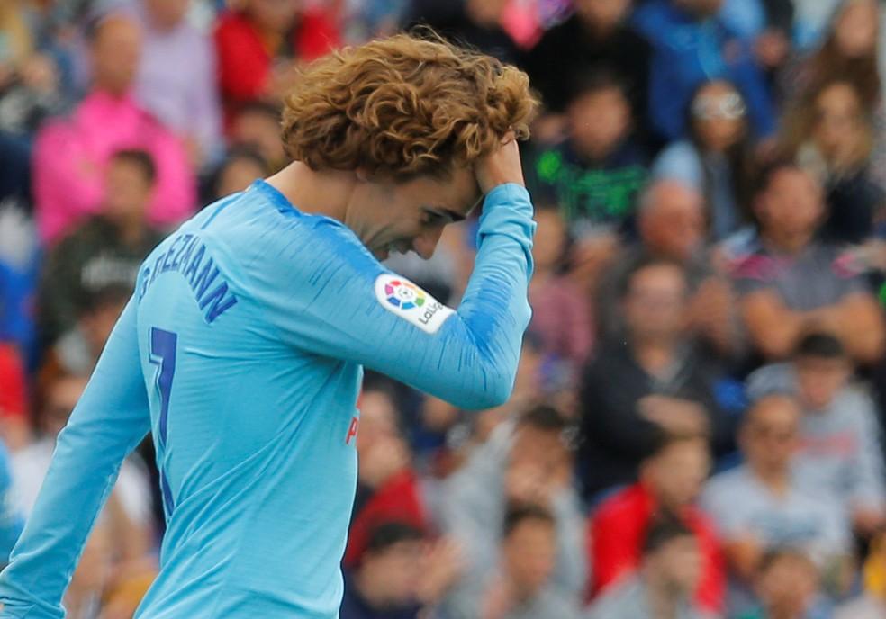 Griezmann foi anunciado pelo Barcelona — Foto: REUTERS/Heino Kalis