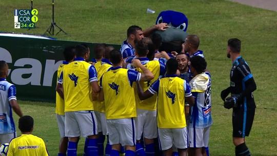 Seis jogadores têm contrato com o CSA para 2020: três são titulares no Brasileirão