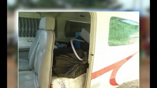 Polícia Federal apreende avião carregado com mais de 300 kg de cocaína no Pará