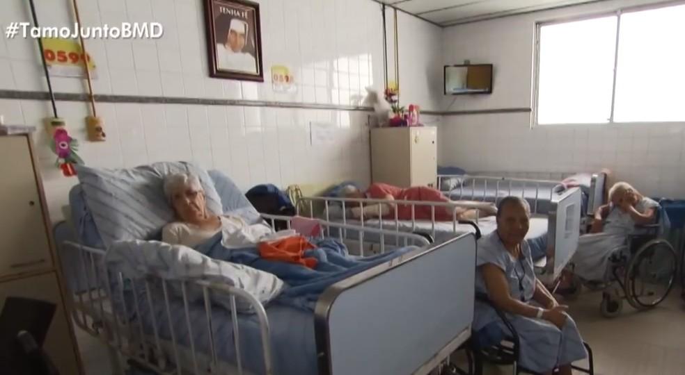 Instituição auxilia pacientes de todas as idades — Foto: Reprodução/TV Bahia
