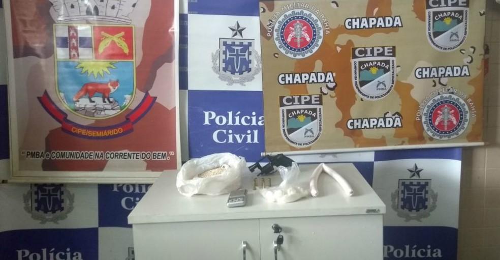 Operação aconteceu na manhã desta quinta-feira (6), na cidade de Seabra, na Chapada Diamantina. (Foto: Divulgação / SSP-BA)