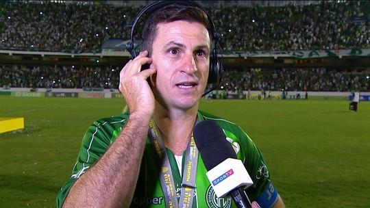 Fumagalli comenta fim de carreira com título pelo Guarani