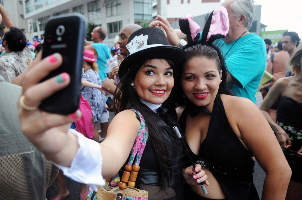Fotografia do bloco Banda de Ipanema em 2015 — Foto: Alexandre Durão/G1
