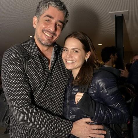 Michel Melamed e Leticia Colin (Foto: Cristina Granato)