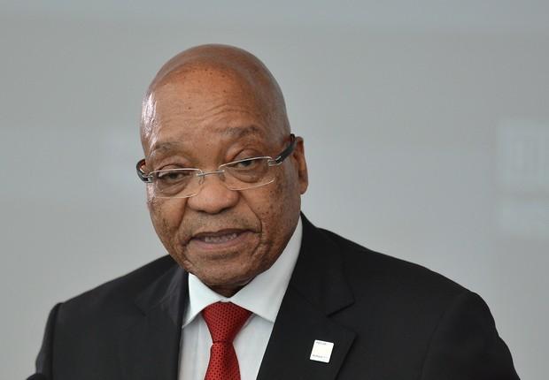 Jacob Zuma, presidente da África do Sul (Foto: Ramil Sitdikov/Host Photo Agency/Ria Novosti via Getty Images)