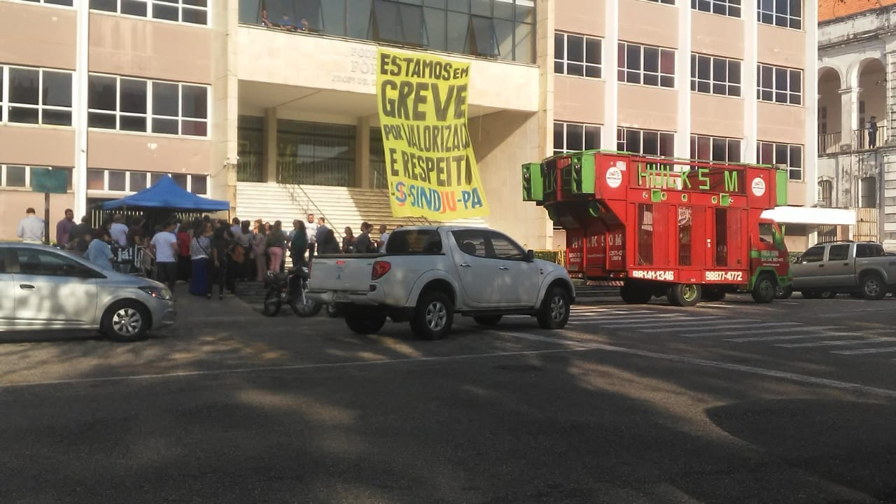 Servidores do Poder Judiciário iniciam greve em Belém - Notícias - Plantão Diário