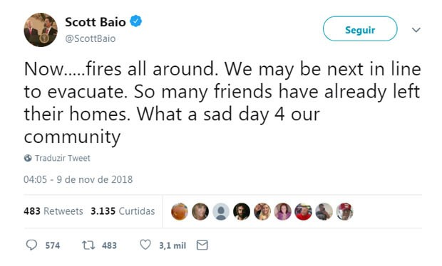Scott Baio (Foto: Reprodução/Twitter)