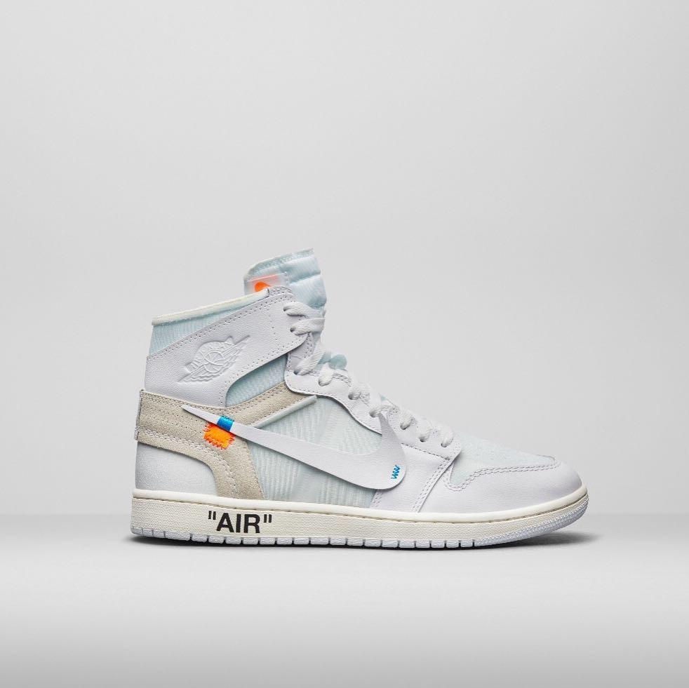 Uma das parcerias de Virgil Abloh e sua Off-White com a Nike (Foto: Divulgação)