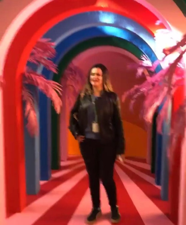 Maísa visita sede do Instagram e do Facebook em Los Angeles (Foto: Instagram/ Reprodução)