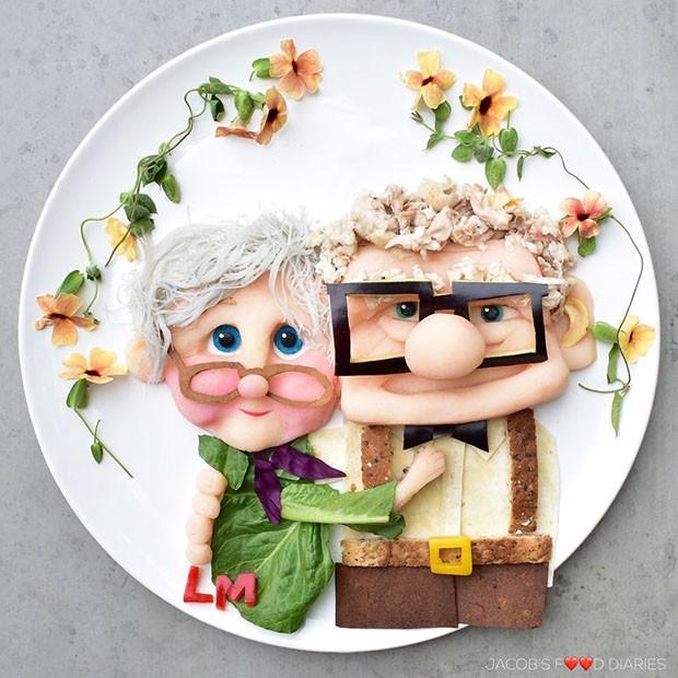 pratos (Foto: Instagram/jacobs_food_diaries)