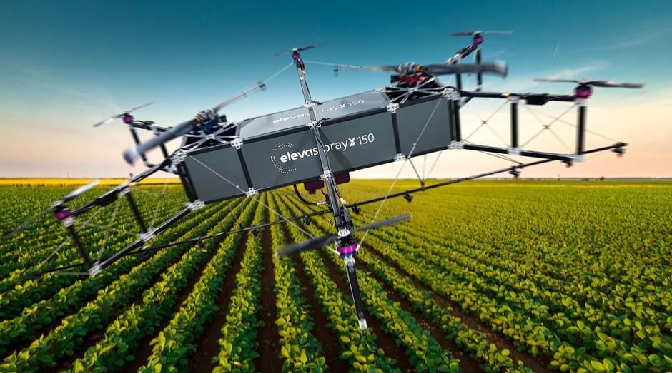 Eleva Spray 150, drone produzido pela startup Eleva (Foto: Divulgação)