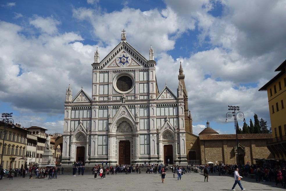 """Stendhal afirmou que visitar Basílica de Santa Croce foi """"uma experiência extremamente profunda"""" — Foto: Pixabay"""