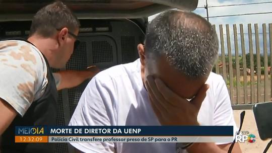 Professor acusado de matar diretor de universidade é transferido para Cornélio Procópio