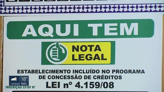 GDF quer mudar a fórmula do Nota Legal para estimular consumidores a exigir nota fiscal