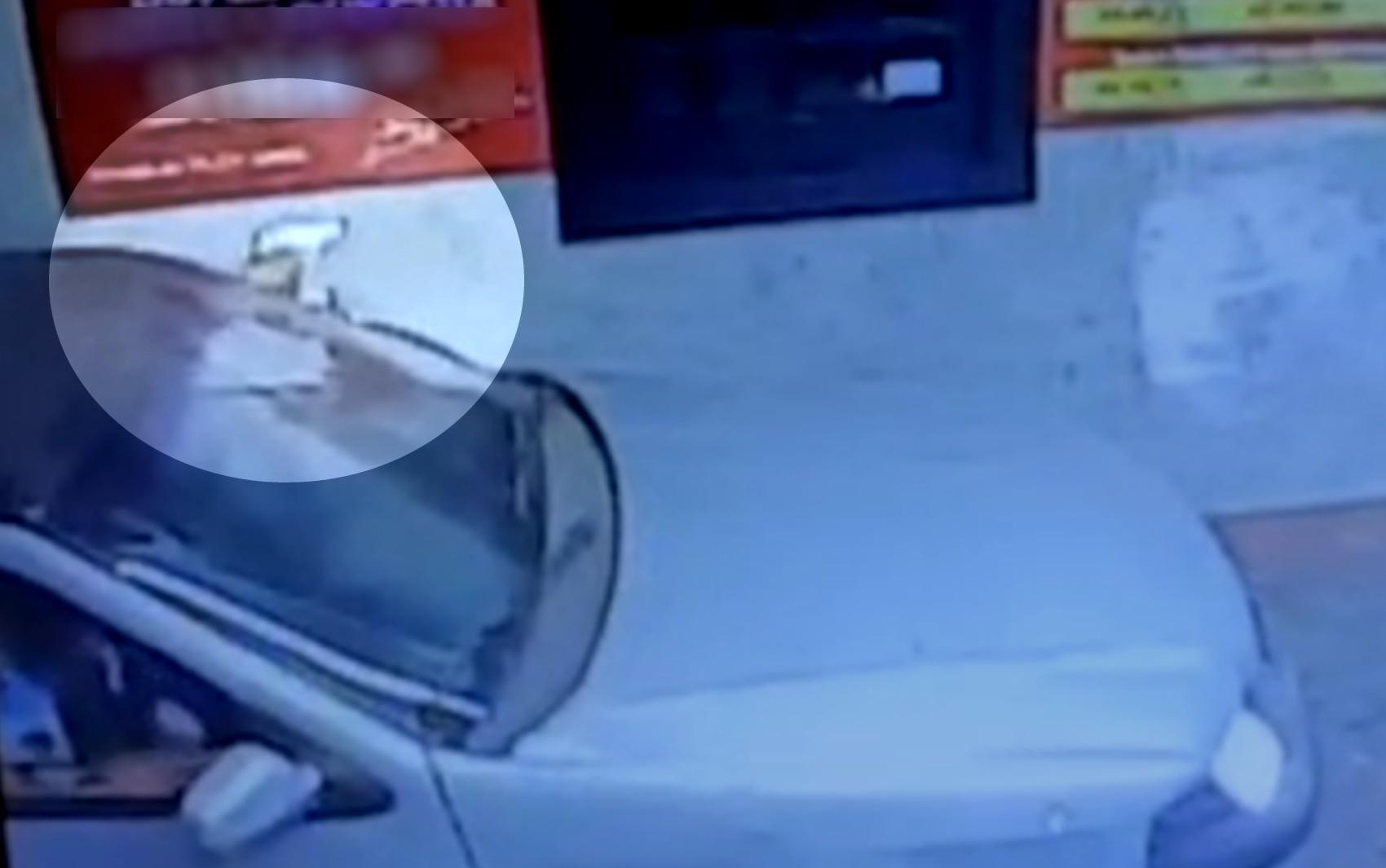 Cliente atira contra recepção de motel após não conseguir entrar no local, em Aparecida de Goiânia; vídeo