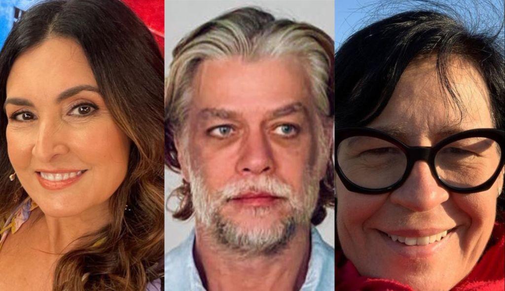Fátima Bernardes, Fábio Assunção e Thelma Guedes estão no Humanorama do Rock in Rio (Foto: Reprodução/ Instagram)