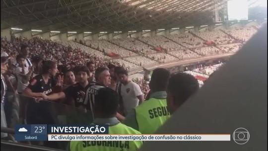 """Cruzeiro x Atlético-MG: Polícia Civil confirma que torcedor atleticano xingou segurança de """"macaco"""""""