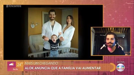 Alok revela que 2º filho foi gerado após live: 'A gente acabou se empolgando'